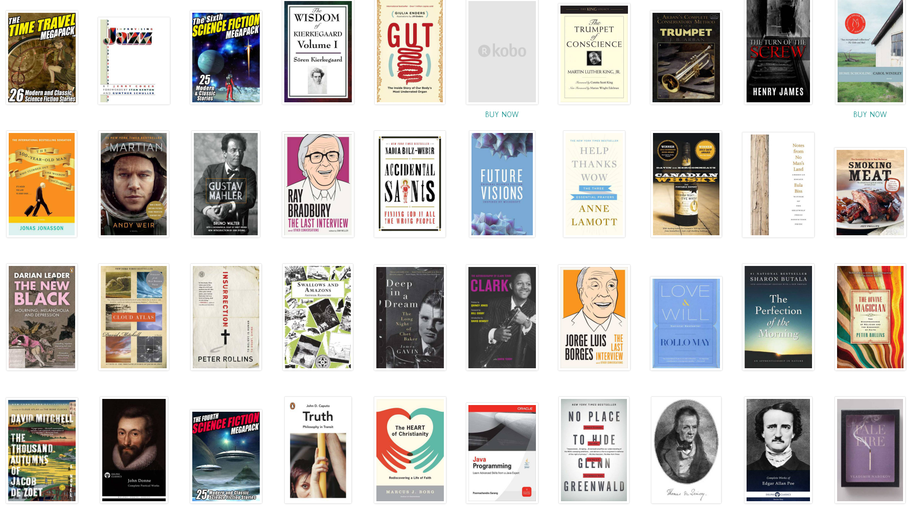 my kobo library